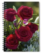 Red Roses The Language Of Love Spiral Notebook