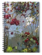 Red Roses Spiral Notebook