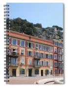 Red Row Houses In Nice Spiral Notebook