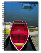 Red Rowboat Spiral Notebook
