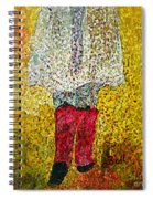 Red Rubber Boots Spiral Notebook