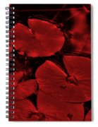 Red Ruby Tuesday Spiral Notebook