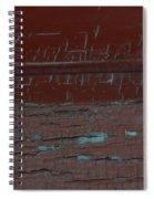 Red Rune Rubrics Spiral Notebook