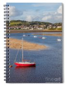 Red Sail Boat Spiral Notebook