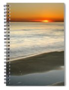 Red Sea Sunset Spiral Notebook