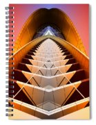 Red Shift Spiral Notebook