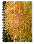 Red Silk And Droplets Spiral Notebook