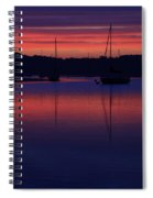 Red Sky At Night Spiral Notebook