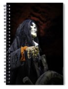 Red Skys At Night Pirates Delight Spiral Notebook
