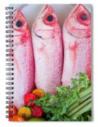 Red Snappers Spiral Notebook