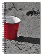 Red Solo Cup Spiral Notebook