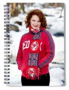 Red Sox Girl Spiral Notebook