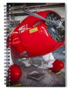 Red Speedster Spiral Notebook