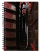 Red Staircase Spiral Notebook