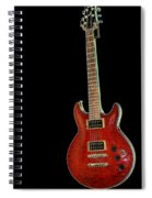 Red Stands Out Spiral Notebook