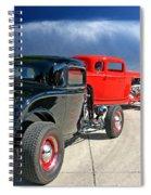 Red Steelies Spiral Notebook