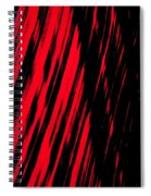 Red Storm Spiral Notebook