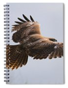 Red Tail Take Off Spiral Notebook