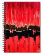 Red Thunder Clash II Spiral Notebook
