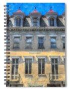 Red Top Spiral Notebook