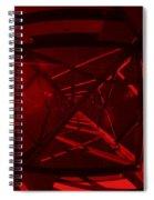 Red Tower Spiral Notebook