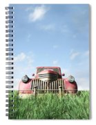 Red Truck Spiral Notebook