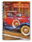 Red Truck Photo Art Spiral Notebook