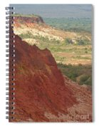 red Tsingy landscape Madagascar 2 Spiral Notebook