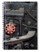 Red Valve S P R R 1673 Spiral Notebook