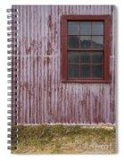 Red Wall Spiral Notebook
