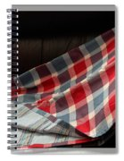 Red White And Blue Quilt  Spiral Notebook