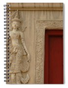 Red Window Chiang Mai Spiral Notebook