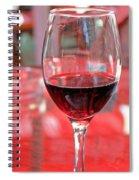 Red Wine Spiral Notebook