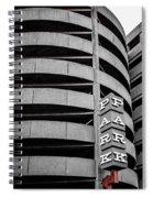 Red Zone Parking Spiral Notebook