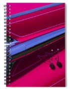 Red1959 Cadillac Spiral Notebook