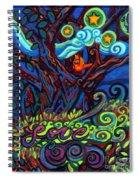 Redbird Sings Song Of Love Spiral Notebook