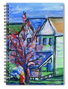 Redbud Tree At West Cape May Spiral Notebook