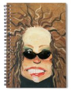 Ginger In Sunglasses Spiral Notebook