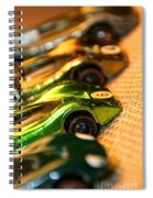 Redline Racers Spiral Notebook