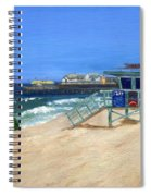 Redondo Beach Lifeguard  Spiral Notebook