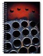 Redrum 3 Spiral Notebook