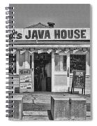 Red's Java House San Francisco By Diana Sainz Spiral Notebook