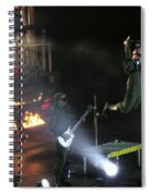 Red's Lead Singer Can Fly Spiral Notebook