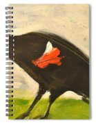 Redwing Muses Spiral Notebook