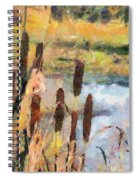 Reedmace Spiral Notebook