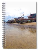 Reeds Beach Panorama - New Jersey Spiral Notebook