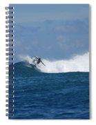 Reef Surfer Moorea Spiral Notebook