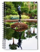 Reflected Archer  Spiral Notebook
