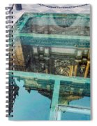 Reflected Cathedral Spiral Notebook