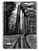 Reflected Strength Spiral Notebook